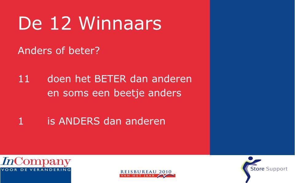 De 12 Winnaars Anders of beter.