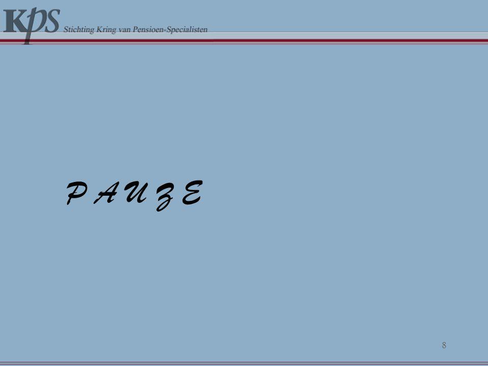 De kredietcrisis in de praktijk 18 april 2008 Drs.