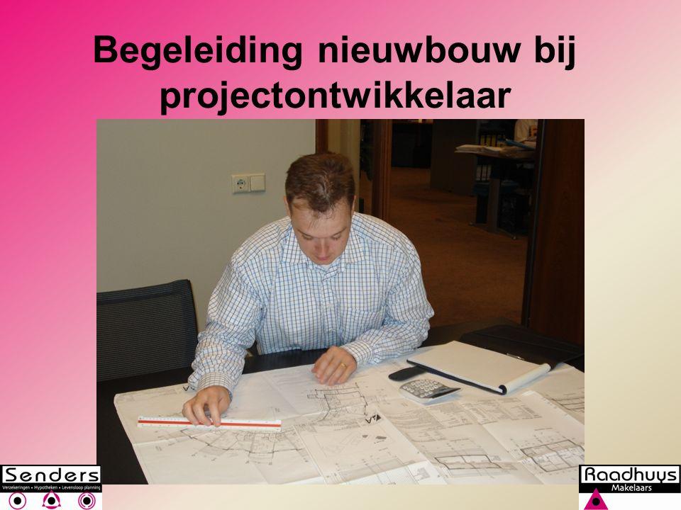 Begeleiding nieuwbouw bij projectontwikkelaar