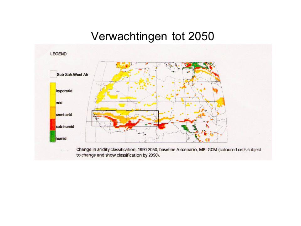Lange-termijn verwachting: grotere droogterisico's
