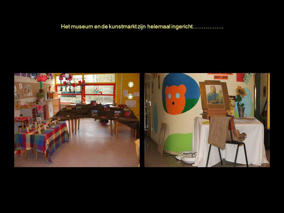 april 2006 Annie M.G. Schmidt school Het museum en de kunstmarkt zijn helemaal ingericht……………..