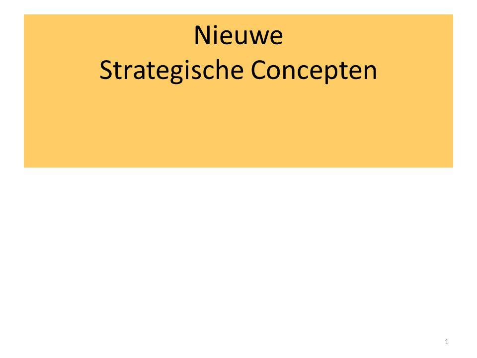 1 Nieuwe Strategische Concepten