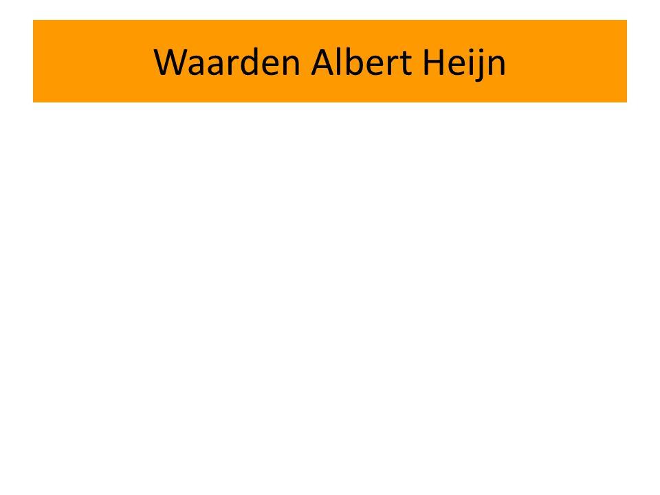 Waarden Albert Heijn