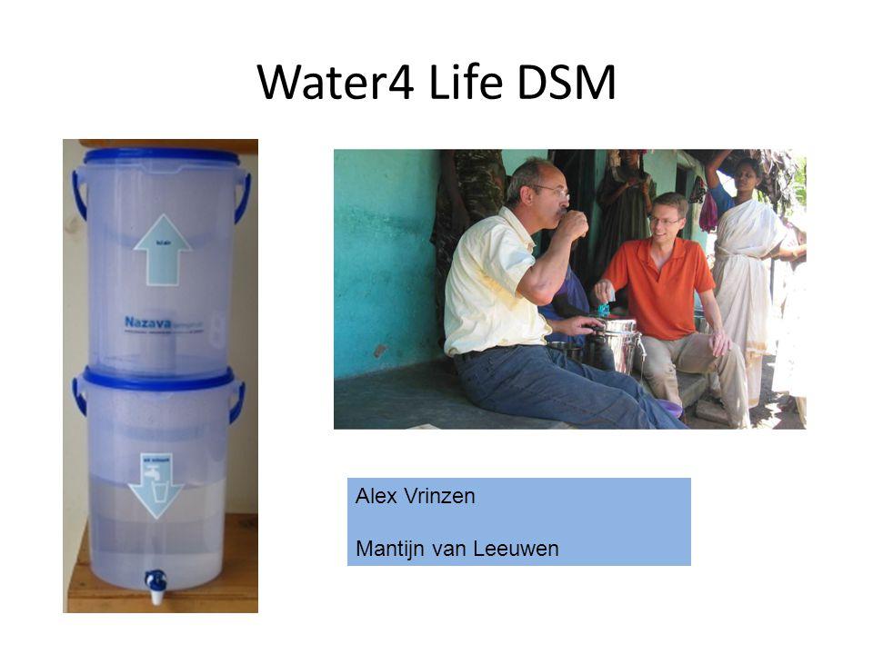 Water4 Life DSM Alex Vrinzen Mantijn van Leeuwen