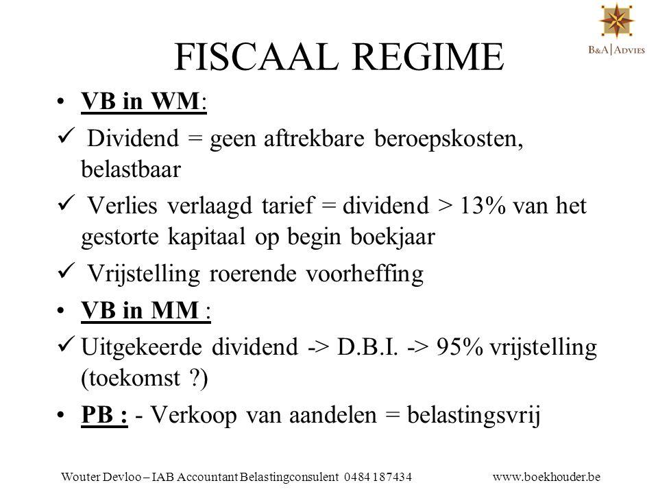 Wouter Devloo – IAB Accountant Belastingconsulent 0484 187434 www.boekhouder.be AANTEKENINGEN •Veiligheidstip 1.
