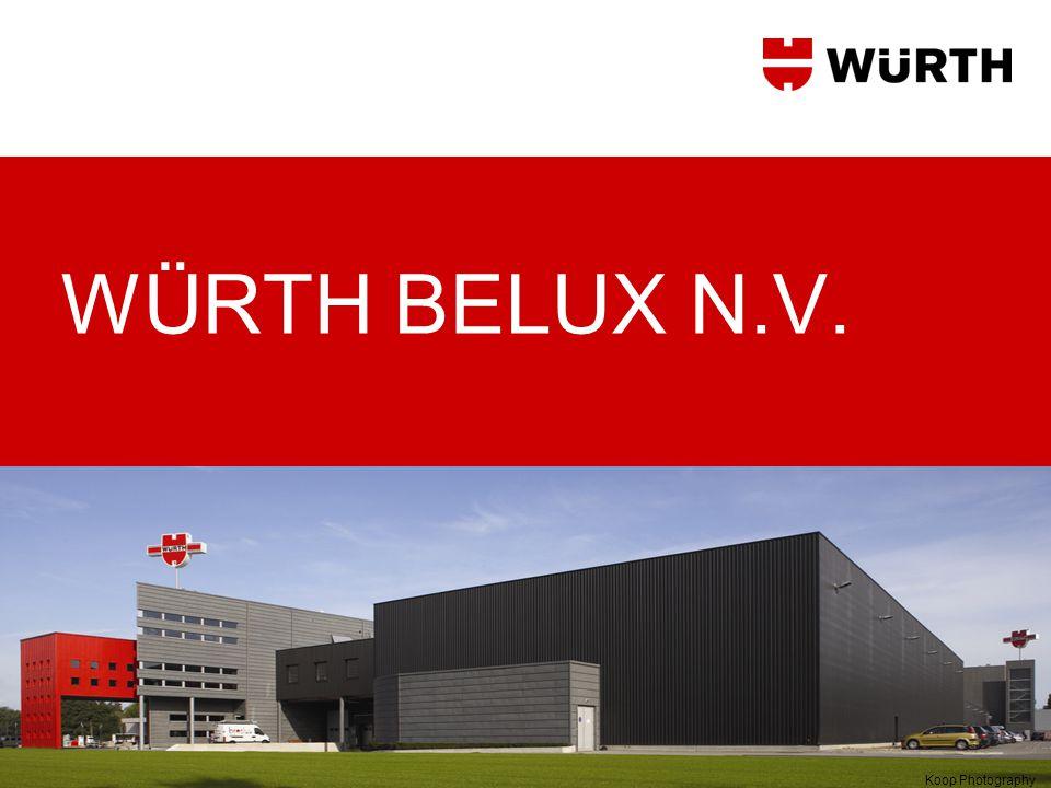 05.07.2014Würth Belux N.V.2 •Würth Belux maakt deel uit van het familiebedrijf Adolf Würth GmbH &Co.