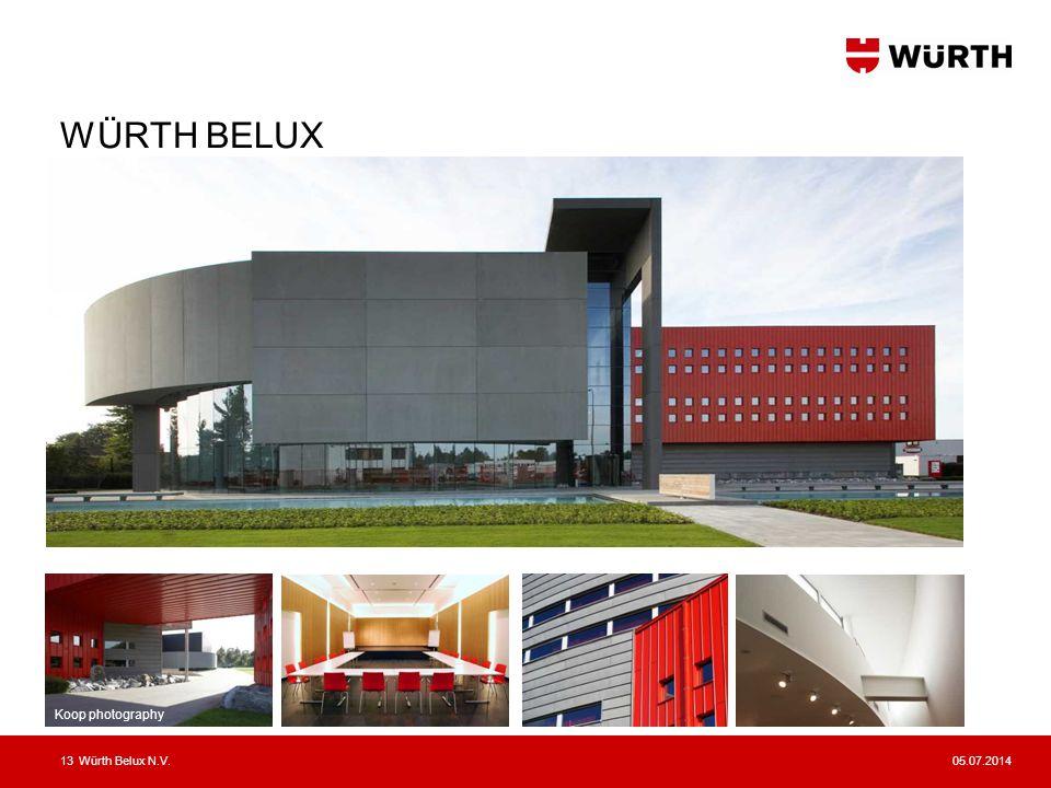 05.07.2014Würth Belux N.V.14 WÜRTH BELUX: HISTORIEK •1 april 1964: Officiële oprichting Würth België BVBA in de Victoriestraat in Turnhout •1984: Verhuis naar de nieuwe bedrijfsruimtes in de Everdongenlaan in Turnhout.