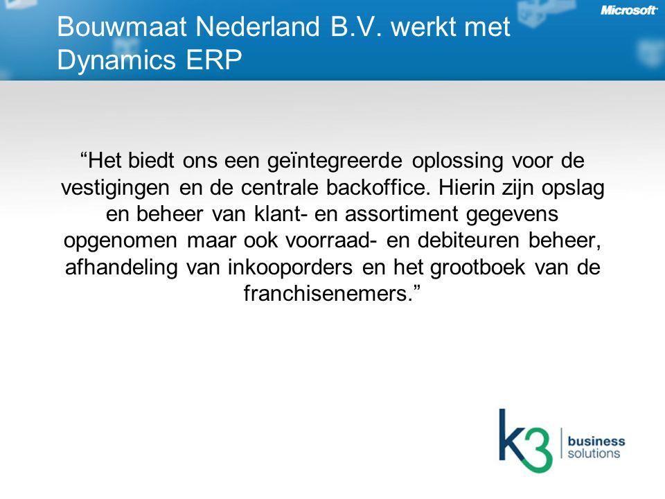 Bouwmaat Nederland B.V.