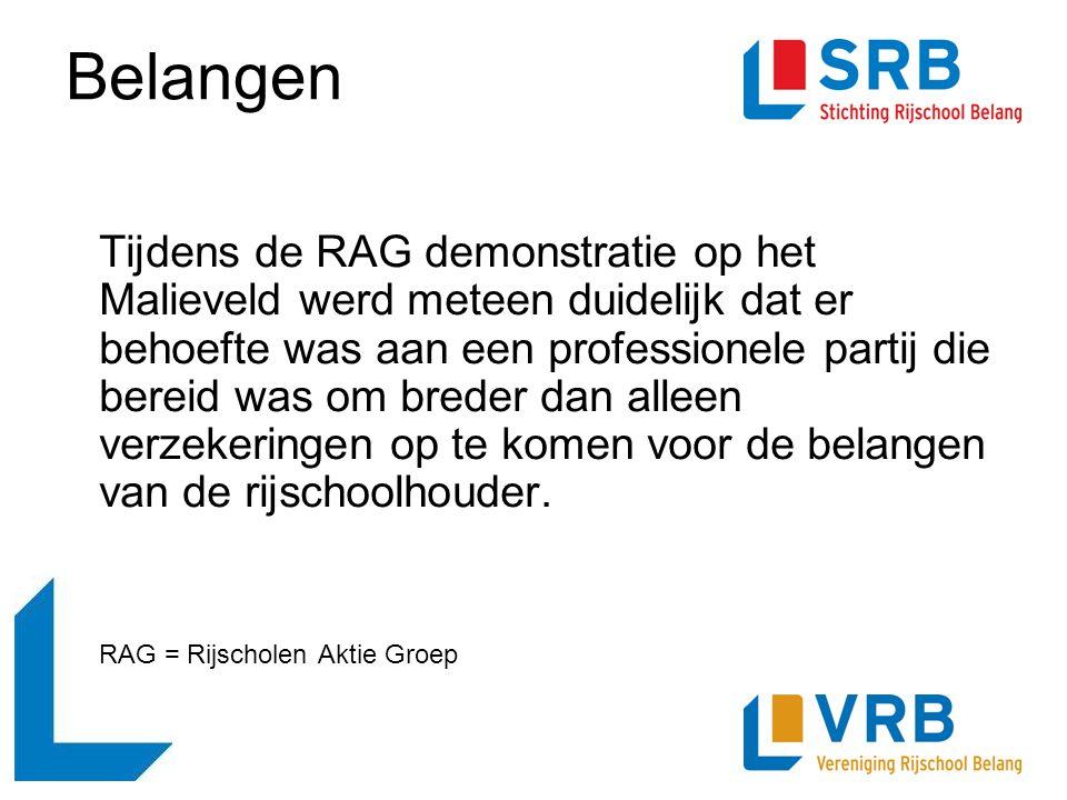 Tijdens de RAG demonstratie op het Malieveld werd meteen duidelijk dat er behoefte was aan een professionele partij die bereid was om breder dan allee