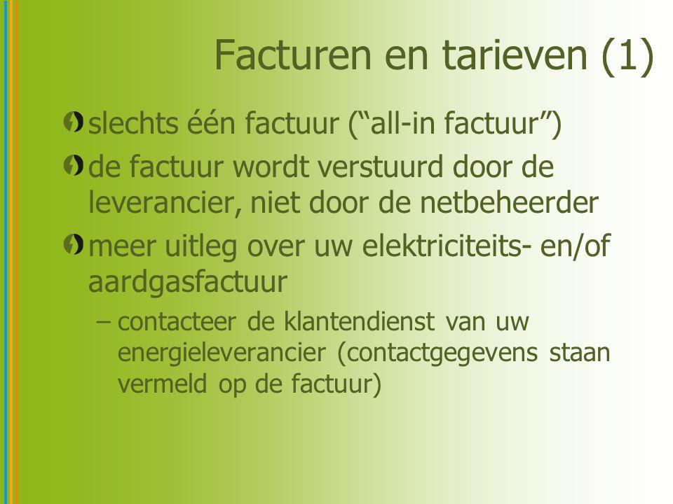 Facturen en tarieven (2) wat staat op je factuur.
