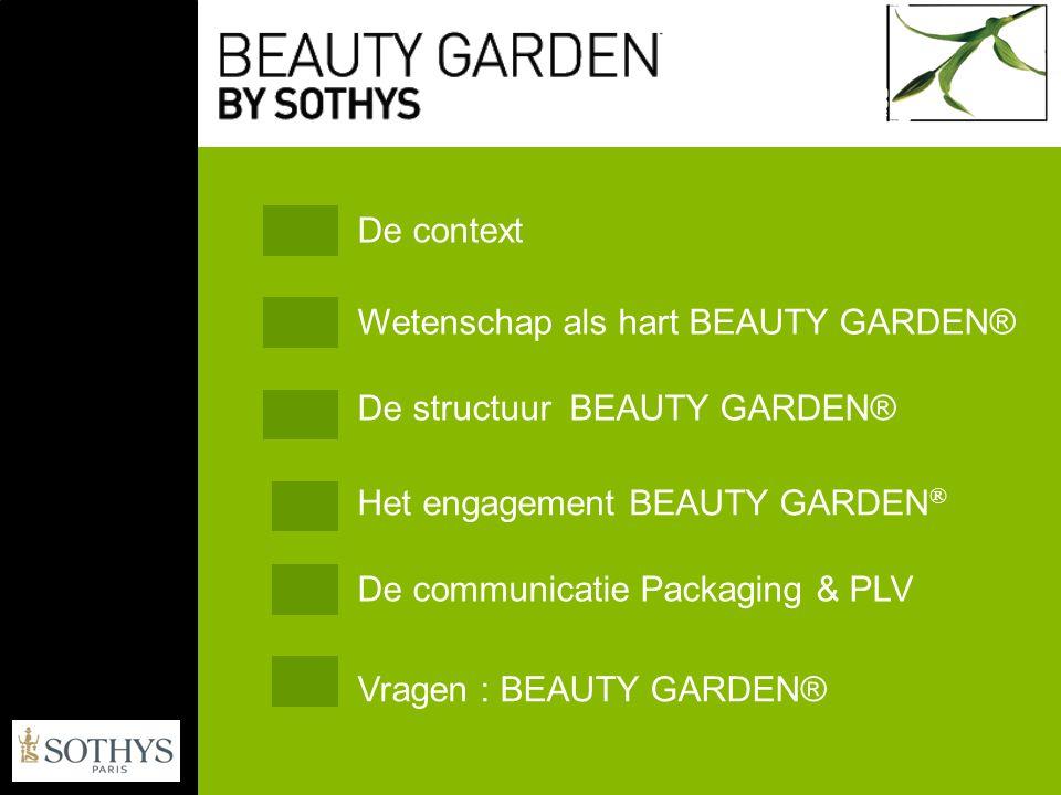 De natuur vormt de kern van de huidige schoonheidswereld In een omgeving met toenemende stress willen de klanten gerustgesteld worden.