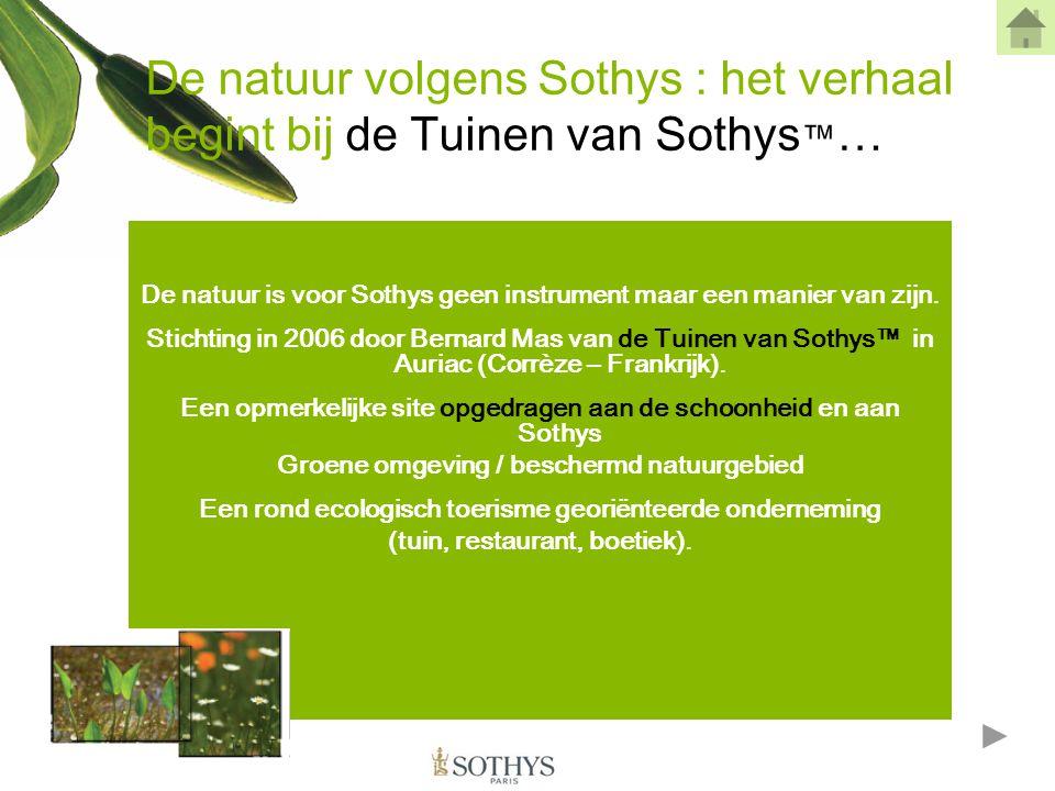 De Tuinen inspireren het onderzoek De Tuinen van Sothys™ inspireerden een centrum voor fundamenteel onderzoek en gingen een samenwerking aan met de Universiteit van Limoges (Frankrijk).