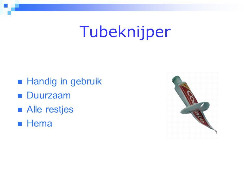 Tubeknijper  Handig in gebruik  Duurzaam  Alle restjes  Hema