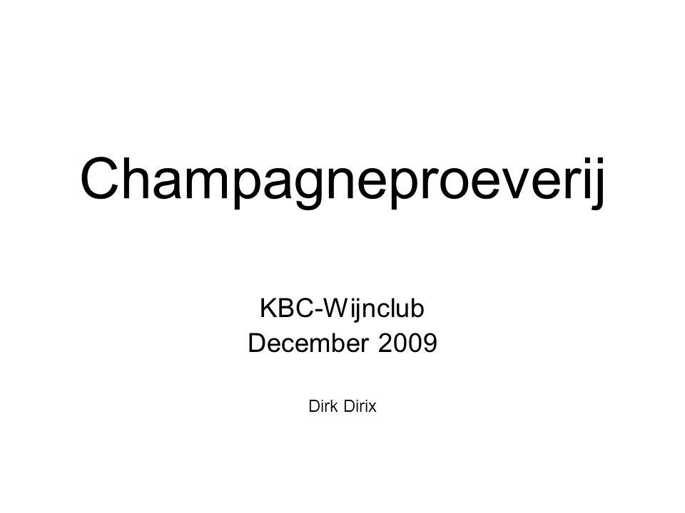 Champagneproeverij KBC-Wijnclub December 2009 Dirk Dirix