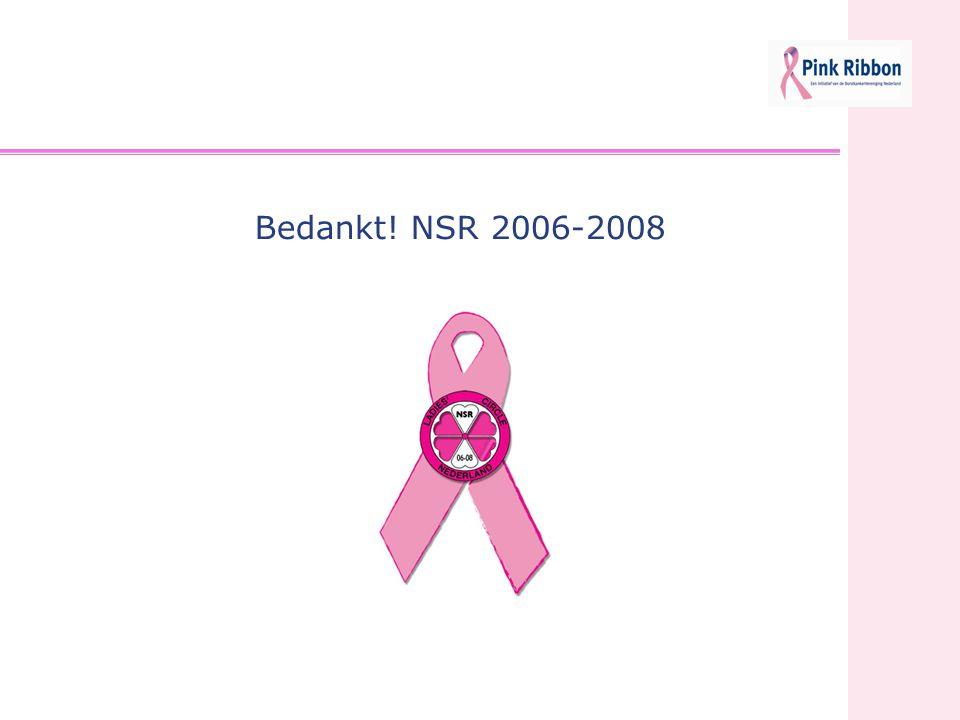 Bedankt! NSR 2006-2008