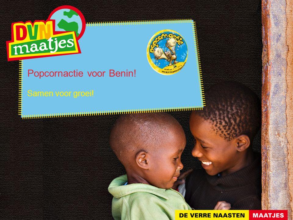 Popcornactie voor Benin! Samen voor groei!