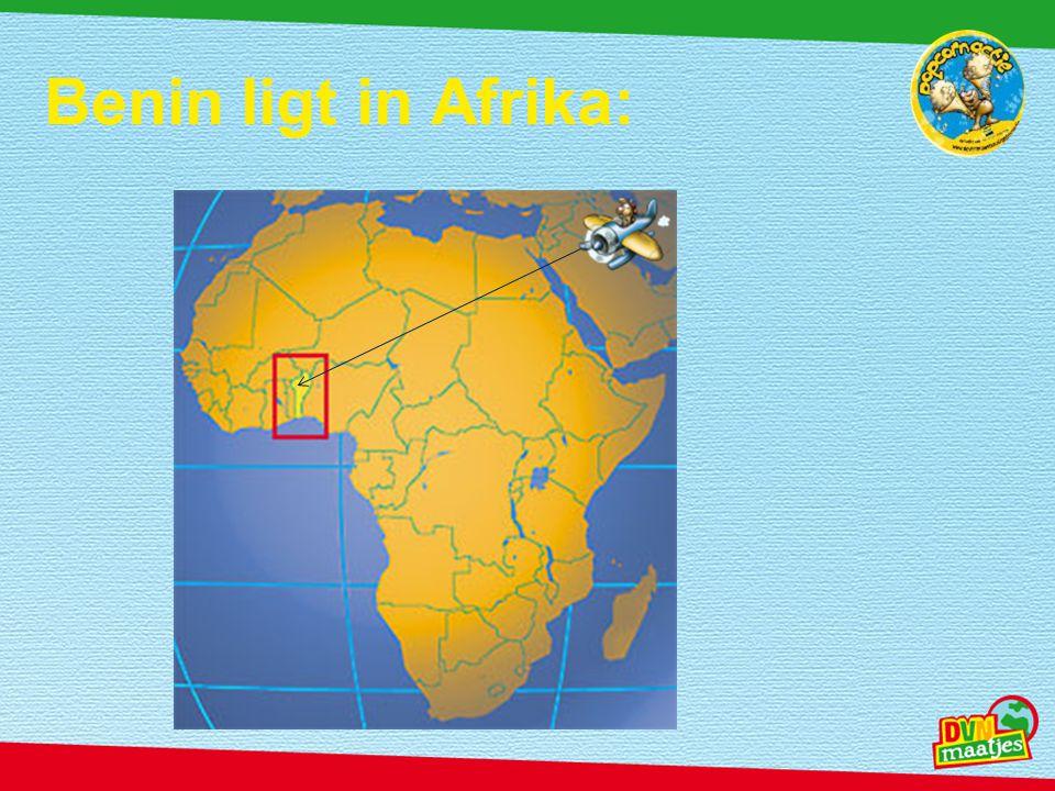 Benin ligt in Afrika: