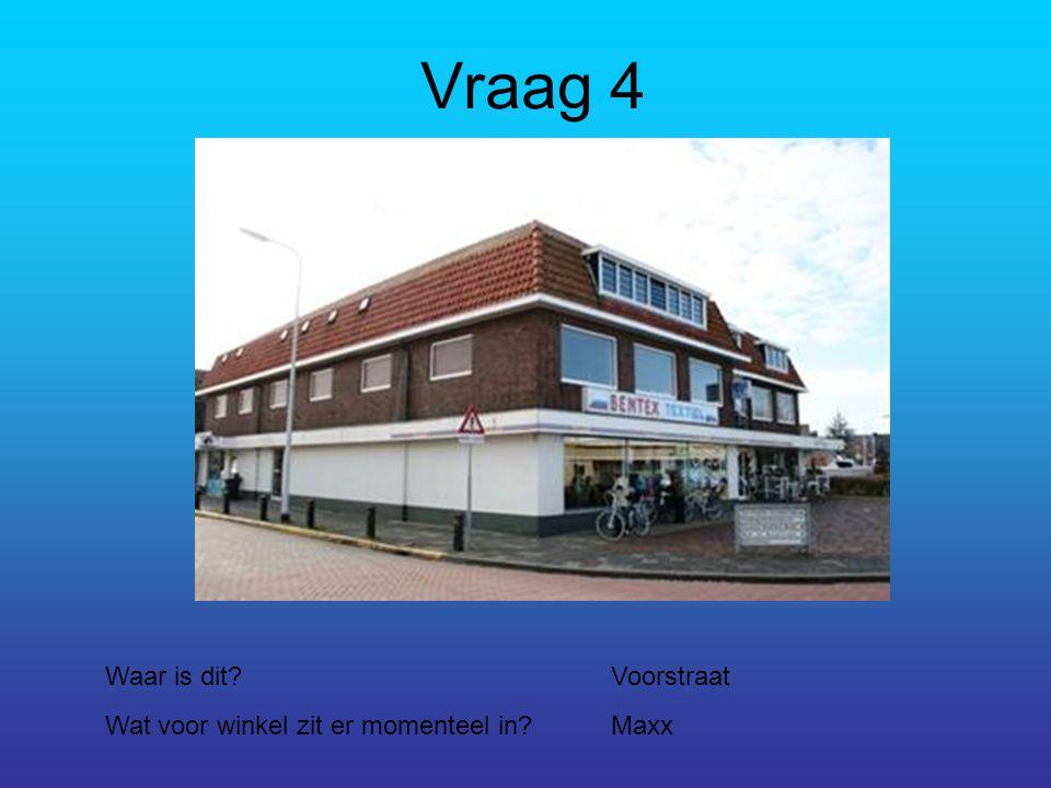 Vraag 15 In welke straat staat dit.Aan Noorderstationsstraat Hoe heet het beeld.