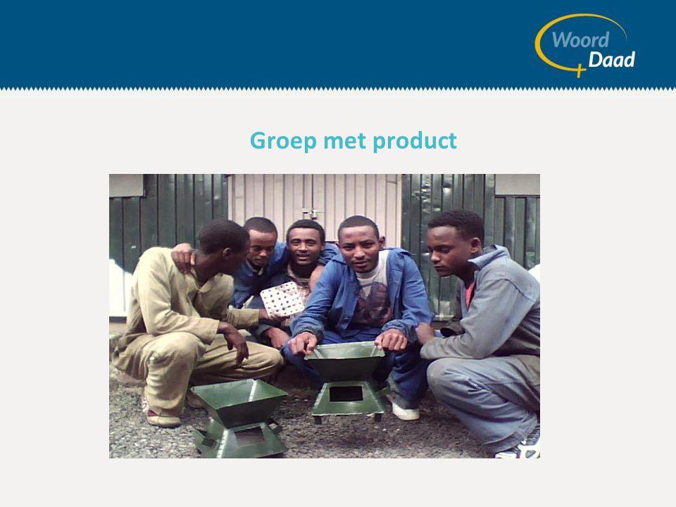 Groep met product