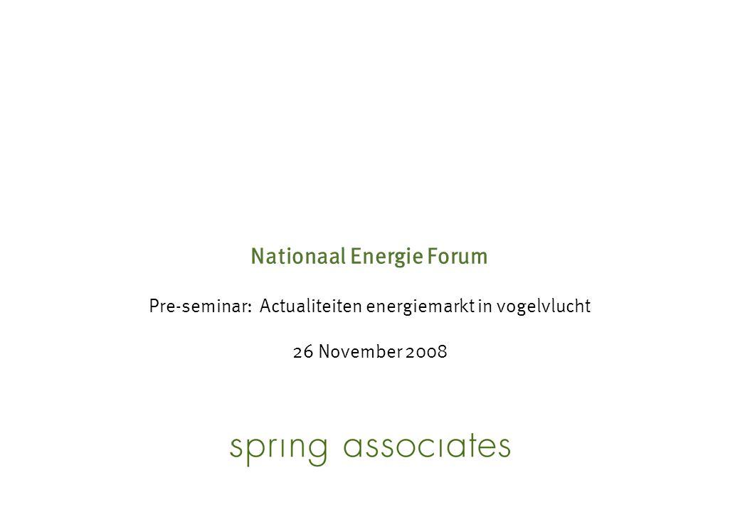 11 De besluiteloosheid van de Nederlandse overheid met betrekking tot de marktstructuur is stuitend  Other fuels – Coal – Nuclear – Renewable Transport Import NAM, BP, Total etc.