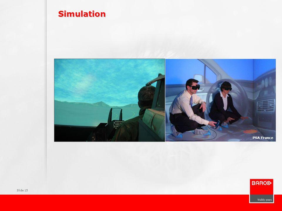 Slide 15 Simulation PSA France