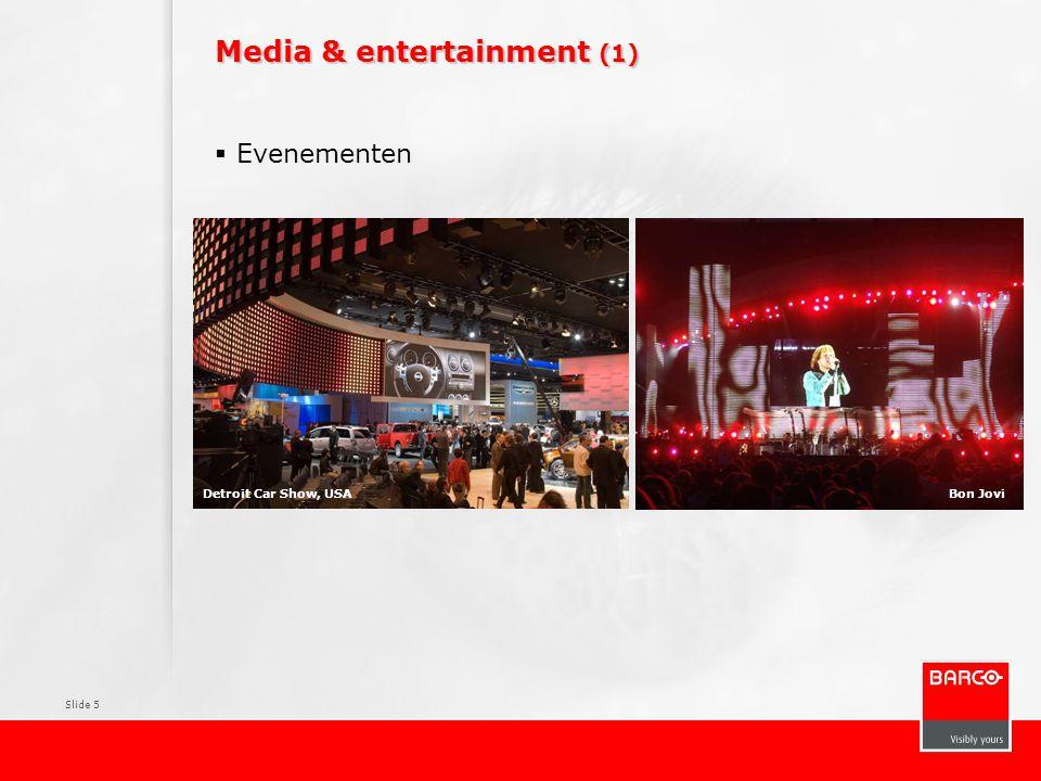 Slide 5 Media & entertainment (1)  Evenementen Bon JoviDetroit Car Show, USA