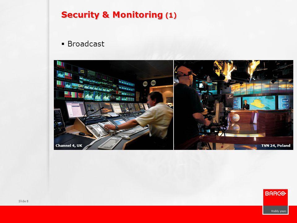 Slide 9 Security & Monitoring (2)  Luchtverkeersleiding Airways New Zealand, ChristChurchSkyguide, Zurich, Switzerland
