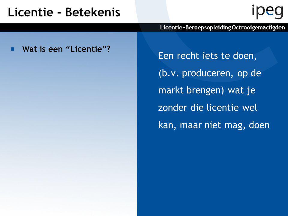 1.Exclusieve (Licentiegever past niet zelf toe en geeft geen andere licenties 2.Niet exclusieve 3. Sole (licentiegever mag geen andere licentienemer aanwijzen Welke soorten licenties zijn er.