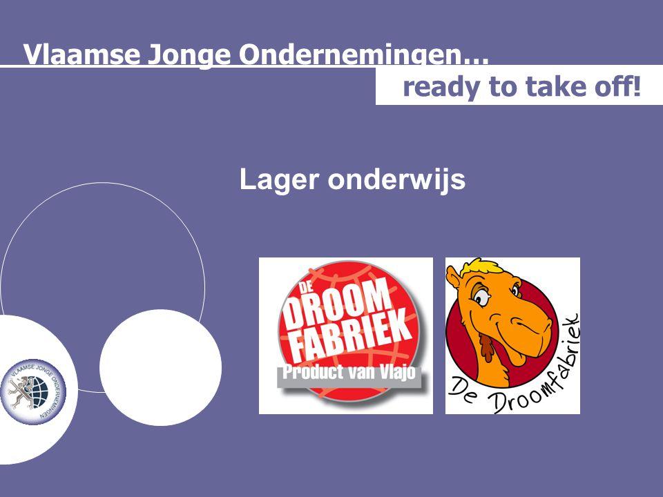 Vlaamse Jonge Ondernemingen… ready to take off! Lager onderwijs