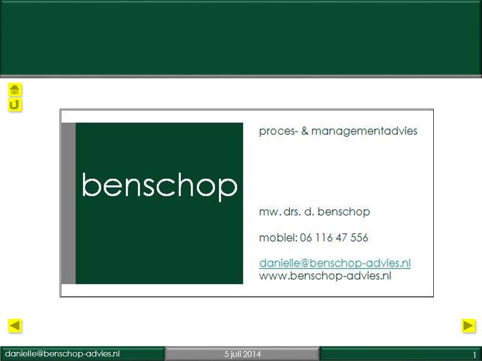 danielle@benschop-advies.nl5 juli 2014 1