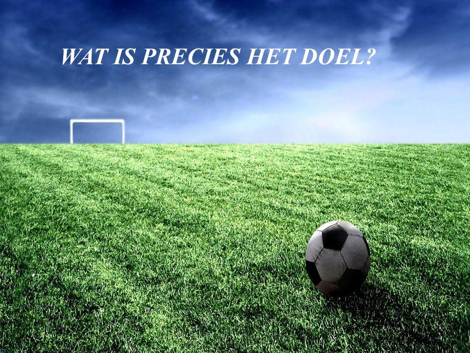 © 2010 Noordhoff UitgeversMarketingcommunicatiestrategie WAT IS PRECIES HET DOEL?