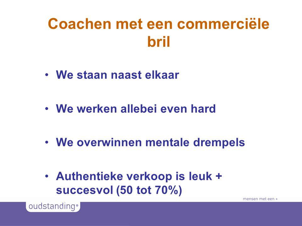 © 2011 SINKSENS|XCHANGE Coachen met een commerciële bril •We staan naast elkaar •We werken allebei even hard •We overwinnen mentale drempels •Authentieke verkoop is leuk + succesvol (50 tot 70%)