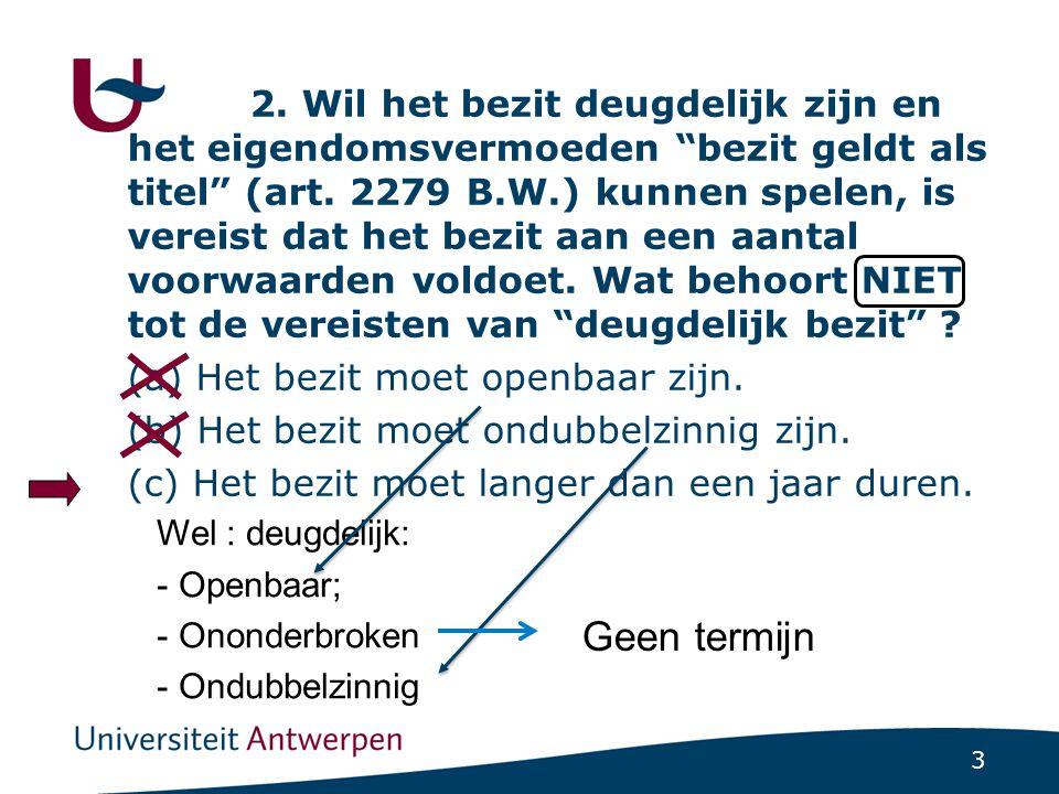 14 (a) De overeenkomst is bindend voor alle partijen (art.