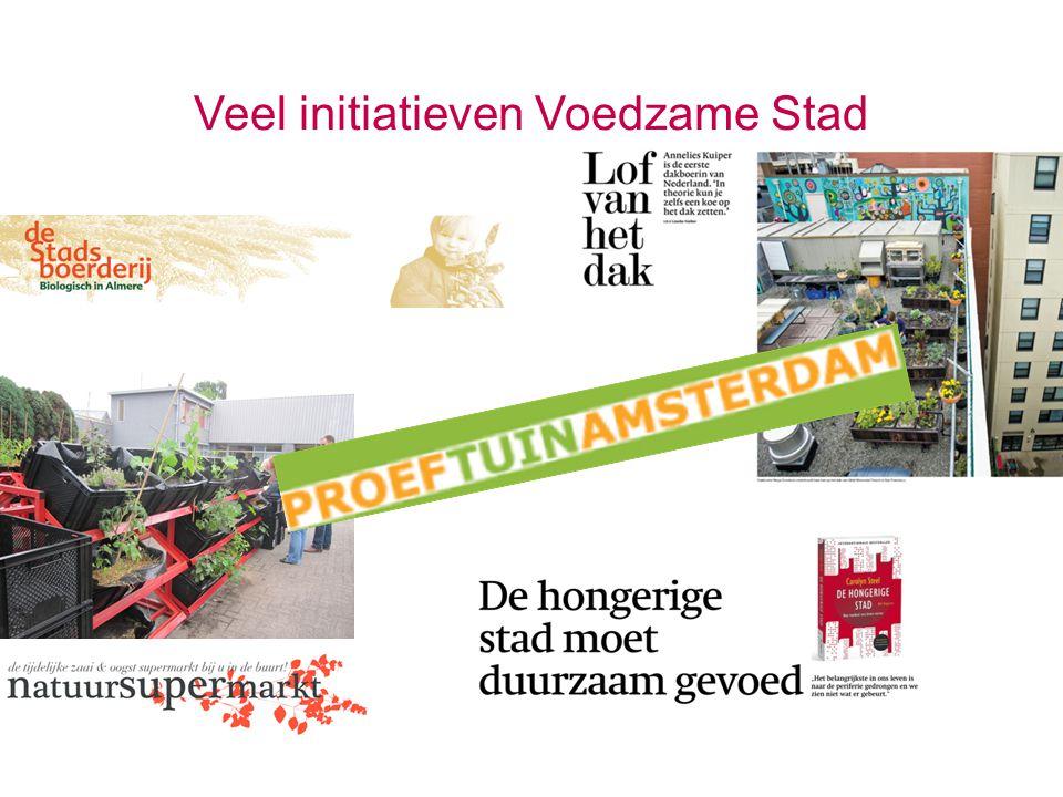 Veel initiatieven Voedzame Stad