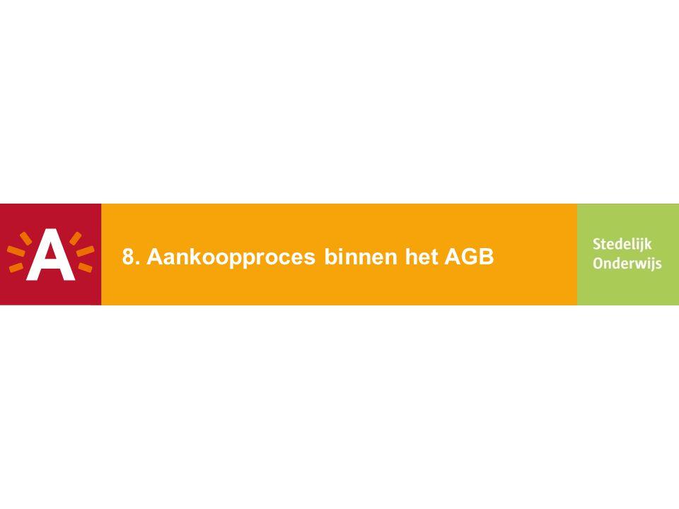 8. Aankoopproces binnen het AGB