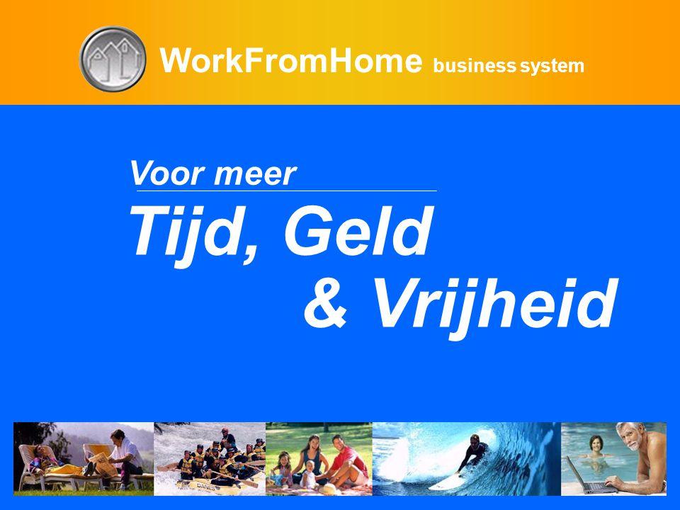 WorkFromHome business system Voor meer Tijd, Geld & Vrijheid