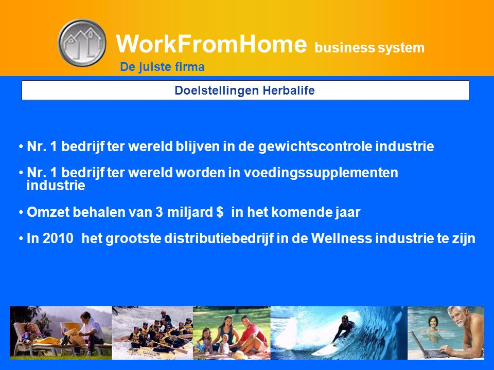 WorkFromHome business system • Nr.