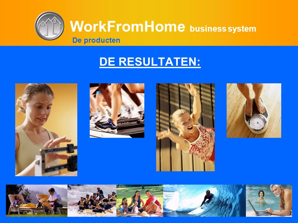 WorkFromHome business system DE RESULTATEN: De producten