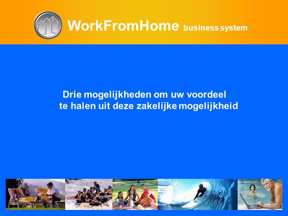 WorkFromHome business system Drie mogelijkheden om uw voordeel te halen uit deze zakelijke mogelijkheid