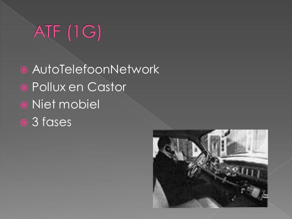  AutoTelefoonNetwork  Pollux en Castor  Niet mobiel  3 fases