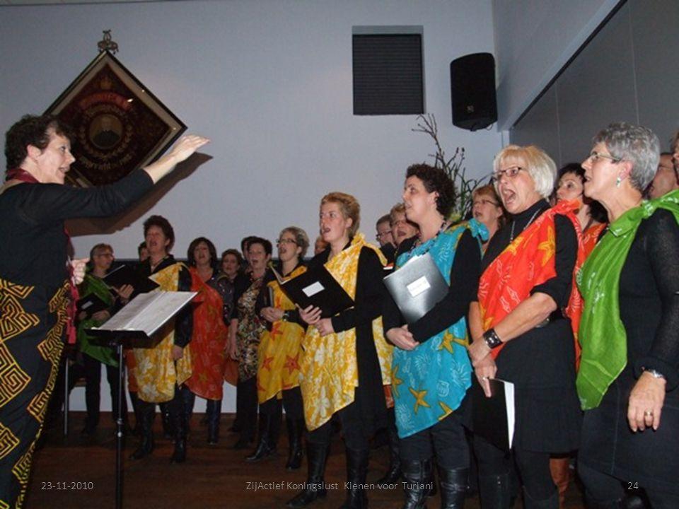 23-11-201024ZijActief Koningslust Kienen voor Turiani