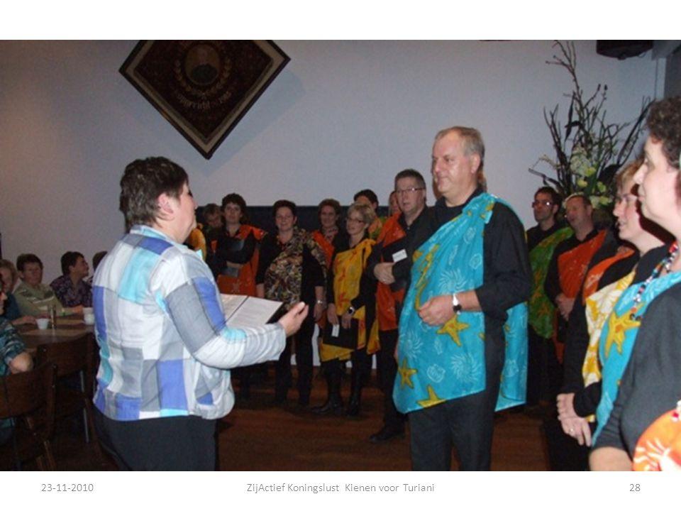 23-11-201028ZijActief Koningslust Kienen voor Turiani