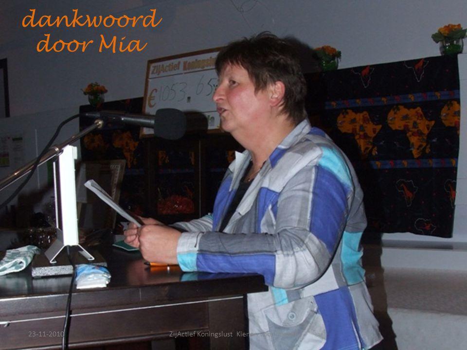 23-11-201036ZijActief Koningslust Kienen voor Turiani dankwoord door Mia