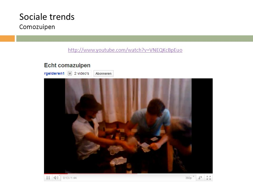 Techonologische en sociale trends RFID http://www.youtube.com/watch?v=eob532iEpqk