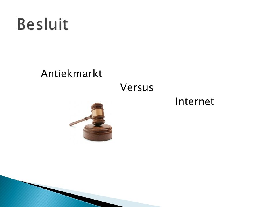 Antiekmarkt Versus Internet