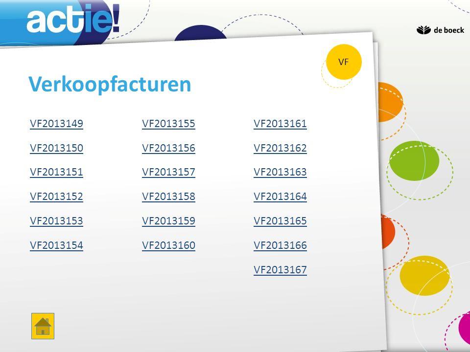 Verkopen handelsgoederen D 70400 C 235,20 Handelsdebiteuren D 40000 C 284,59 Versch.