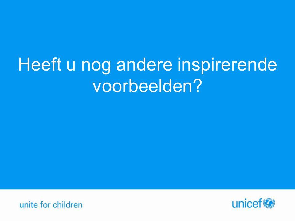UNICEF kraskaart