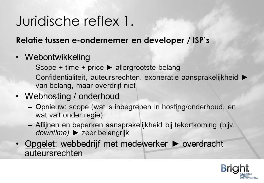 Juridische reflex 1.