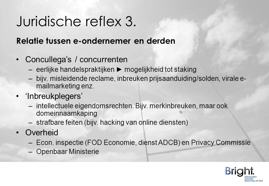 Juridische reflex 3.