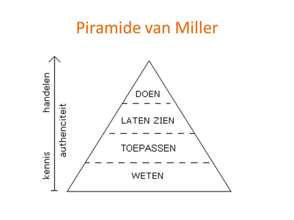Piramide van Miller